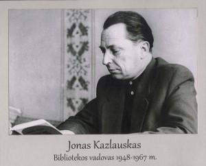 Jonas Kazlauskas 1948 – 1967 m.