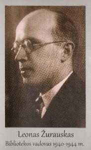 Leonas Žurauskas 1940 – 1944 m.