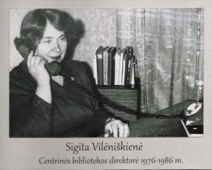 Sigita Vilėniškienė 1976 – 1986 m.