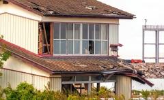 Apleistas namas netoli Namie, Fukušima / Abandoned house near Namie, Fukushima