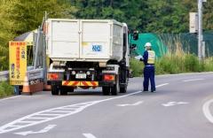 Uždara zona – dokumentų ir transporto priemonių kontrolė / Exclusion zone. Documents and vehicle control