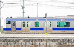 JR Joban Line traukinys / Train of the JR Joban line