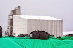 Veikiantys deginimo įrenginiai, skirti šalinti atliekas / Incinerators in operation to dispose debris