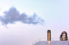 Deginimo įrenginio kaminas / Incinerator chimney