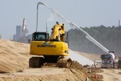 Pakrančių pylimų atnaujinimas ir sutvirtinimas / Renovation and reinforcement of coastal dikes