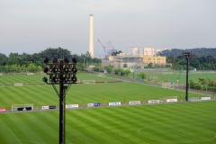 """""""J-Village"""" dabar yra naujai atidarytas sporto kompleksas ir gali būti laikomas Fukušimos atstatymo simboliu / J-Village now is the newly reopened sports complex and could be the symbol of the revitalisation of Fukushima"""