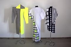 """I kurso studentų jungtinė drabužių kolekcija """"Kompozicija"""""""