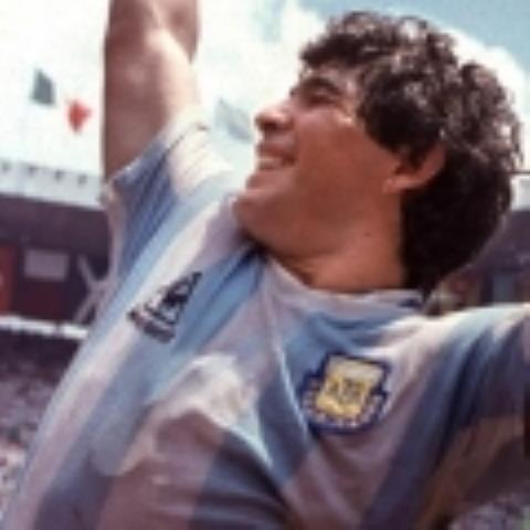 FILES, MEXICO - JUNE 29:  Diego Maradona raises the World Cup trophy after Argentina won the 1986 Mexico City World Cup in this June 1986 file photo.  Argentina's football federation (AFA) announced 26 September 2001 that it has decided to retire the number 10 shirt in honor of Maradona's contribution to the game.  Maradona, who played for Argentina between 1977 and 1994, will wear the number for the last time on 10 November in a match in his honour against a world all-star team.  AFP PHOTO  (Photo credit should read STAFF/AFP/Getty Images)