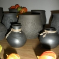 juodoji keramika