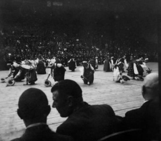 Kauno sporto halės atidarymas. 1939 m.