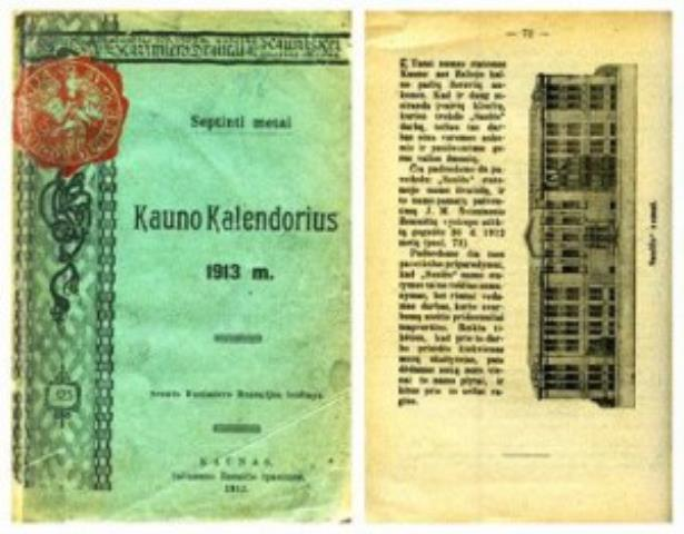 Kauno kalendorius 1913 metams