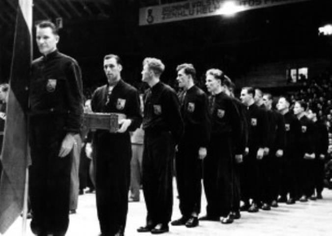 Lietuvos rinktinė 1939 m. Europos krepšinio pirmenybių uždaryme