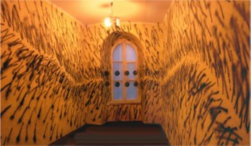 Interatmosfera. (Erdvės tapyba. Juozo Naujalio memorialinis muziejus) 2009m.